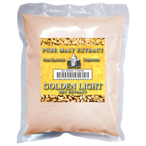 Golden Light Dry Malt Extract (DME) 1lb