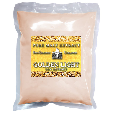 Golden Light Dry Malt Extract (DME) 3lbs