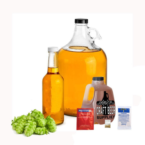 1 Gallon Nano-Meadery | Hopped Honey Mead Recipe Refill Kit