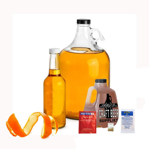 1 Gallon Nano-Meadery | Orange and Honey Mead Recipe Refill Kit