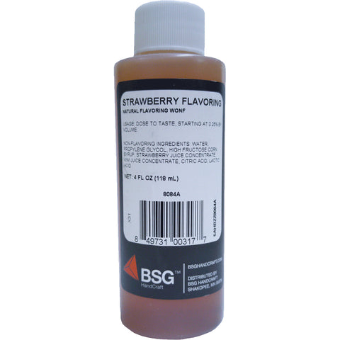 Strawberry Fruit Flavoring 4 oz