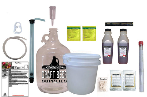 Nano-Cidery | One Gallon Apple Cider Starter Kit