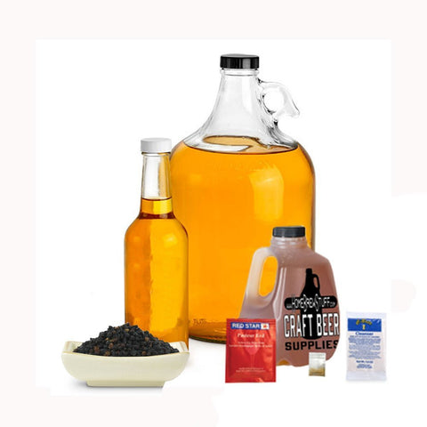 1 Gallon Nano-Meadery | Elderberry Honey Mead Recipe Refill Kit