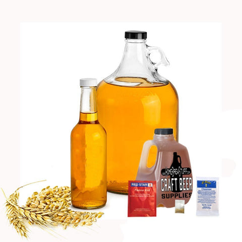 1 Gallon Nano-Meadery | Braggot Honey Mead Recipe Refill Kit