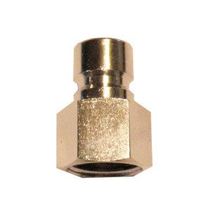 "High Flow Quick Connect Plug x 1/2"" FPT"