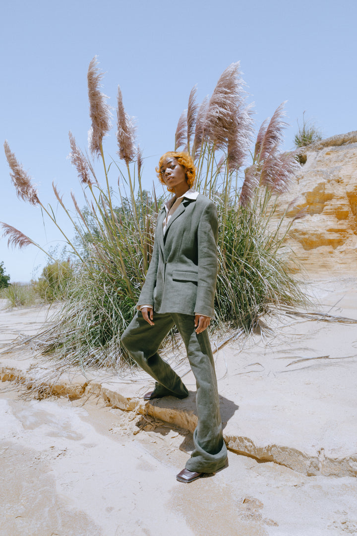 Fashion Designer CARL KAPP collection | Tailored Structured Jacket | Sydney Australia