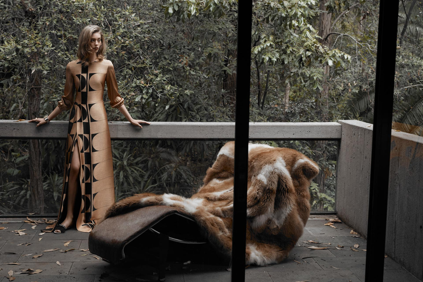Fashion Designer CARL KAPP AW2018 collection photographed in Sydney Australia