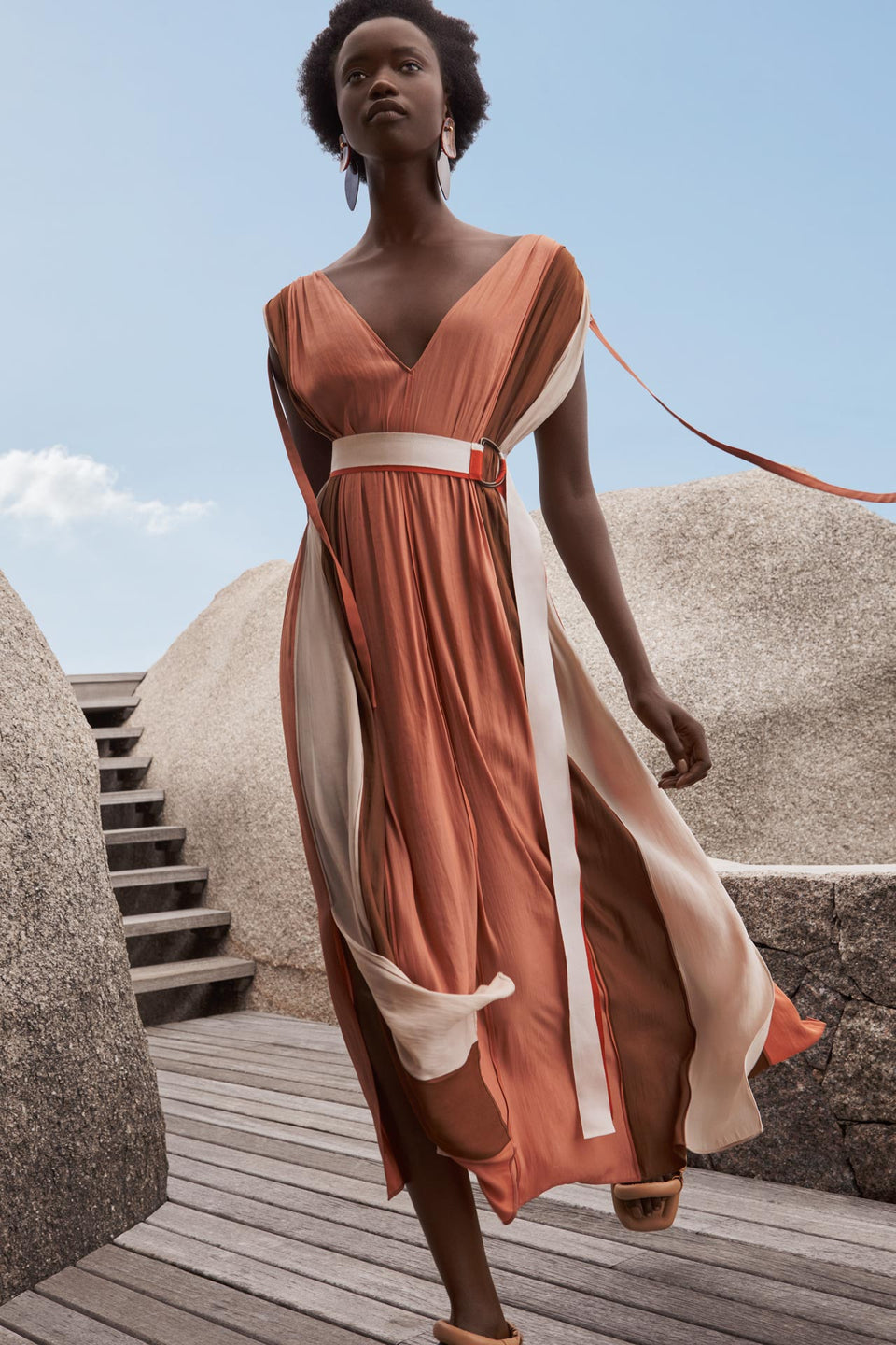 CARL KAPP SS2020 collection in Seychelles Six Senses Zil Pasyon | Bel Air dress