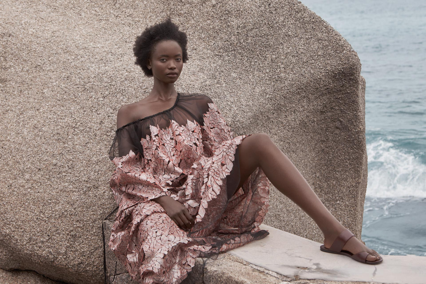 CARL KAPP SS2020 collection in Seychelles Six Senses Zil Pasyon | Eden dress
