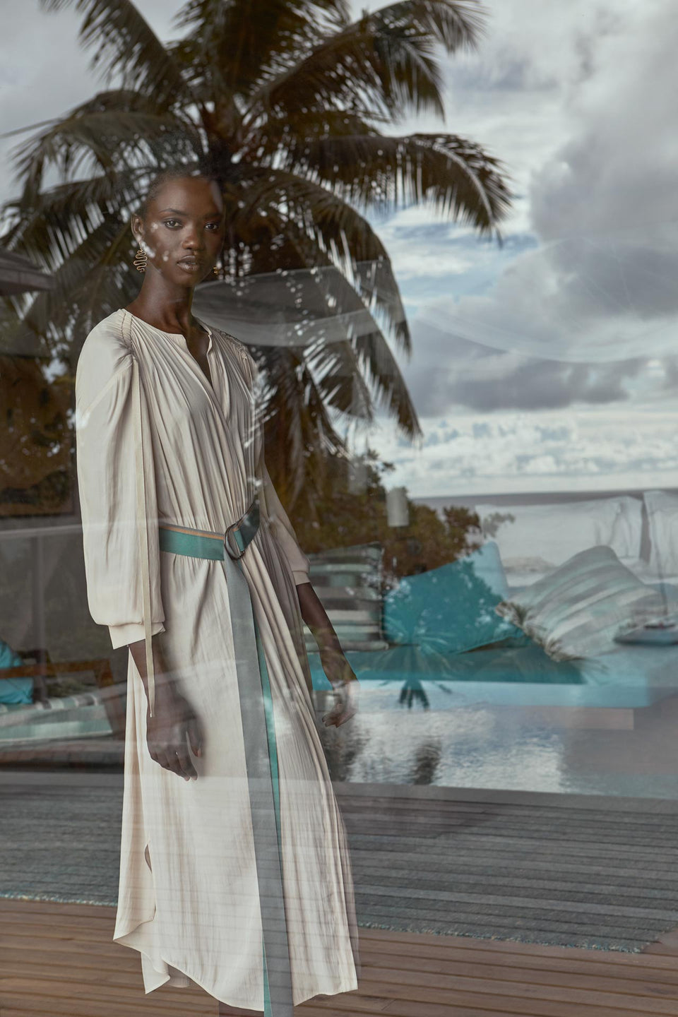 CARL KAPP SS2020 collection in Seychelles Six Senses Zil Pasyon | Zil Pasyon dress