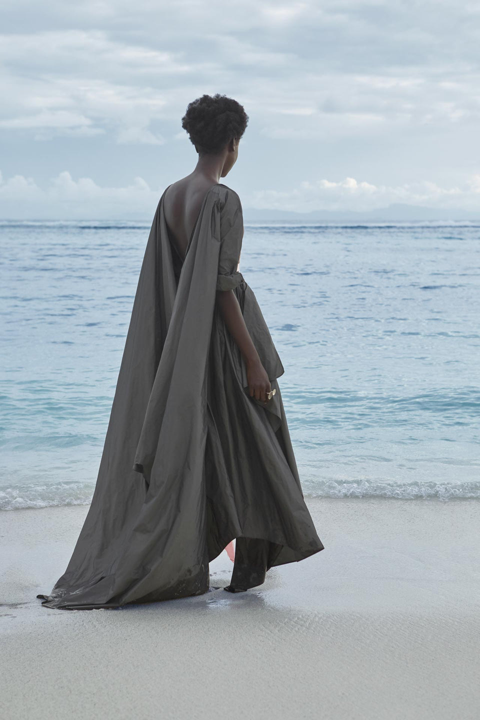CARL KAPP SS2020 collection in Seychelles Six Senses Zil Pasyon | Praslin dress