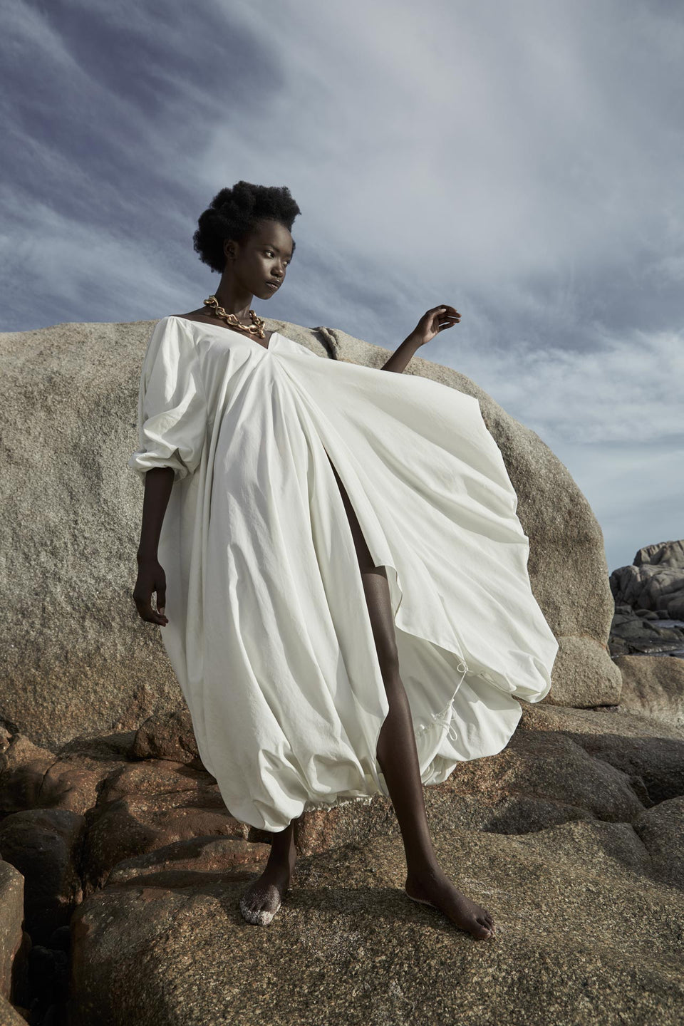 CARL KAPP SS2020 collection in Seychelles Six Senses Zil Pasyon | Six Senses dress