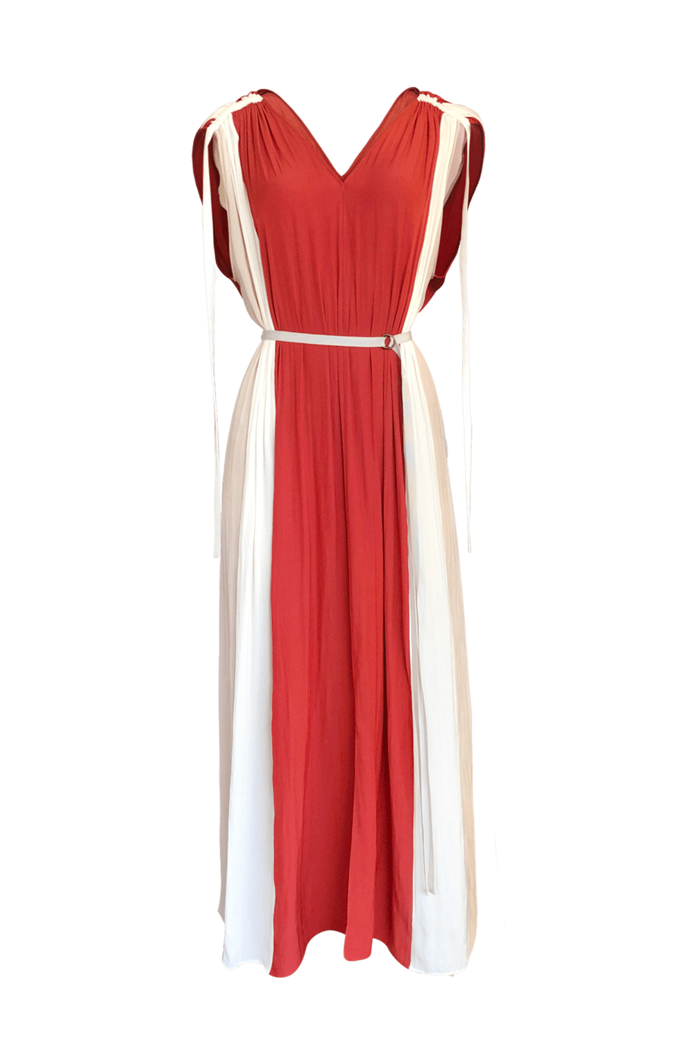 Fashion Designer CARL KAPP collection | Bel Air Onesize Fits All Dress Red | Sydney Australia