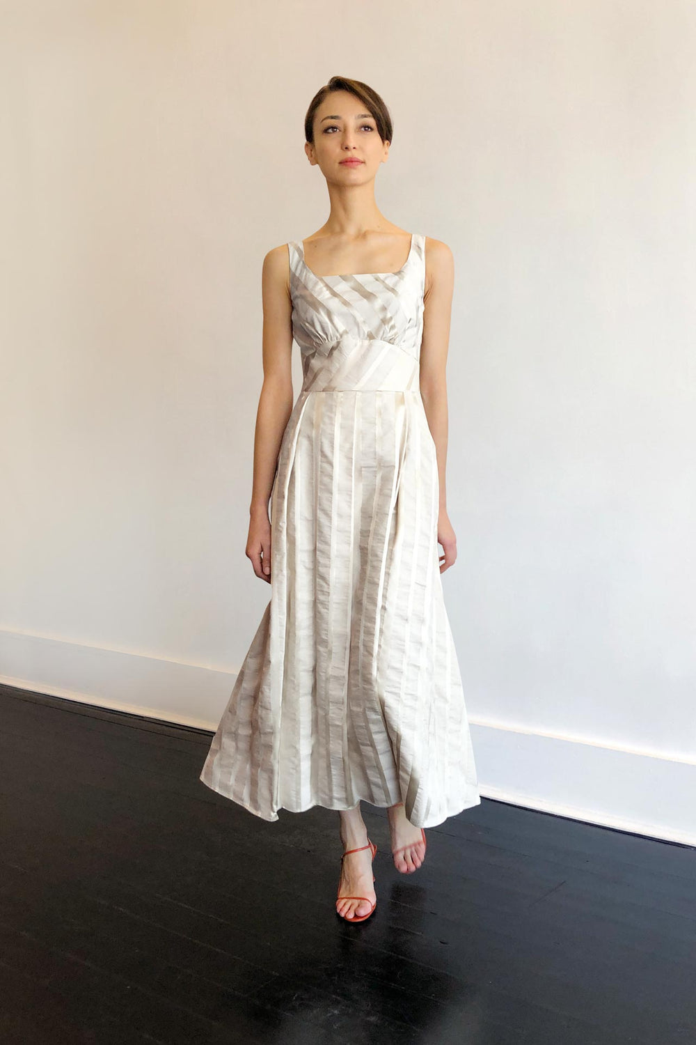 Fashion Designer CARL KAPP collection | Lyria White Dress | Sydney Australia