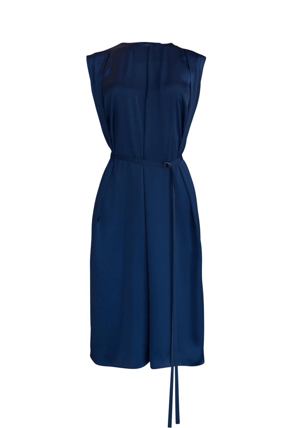 Fashion Designer CARL KAPP collection | Reunion Onesize Fits All cocktail dress Navy | Sydney Australia