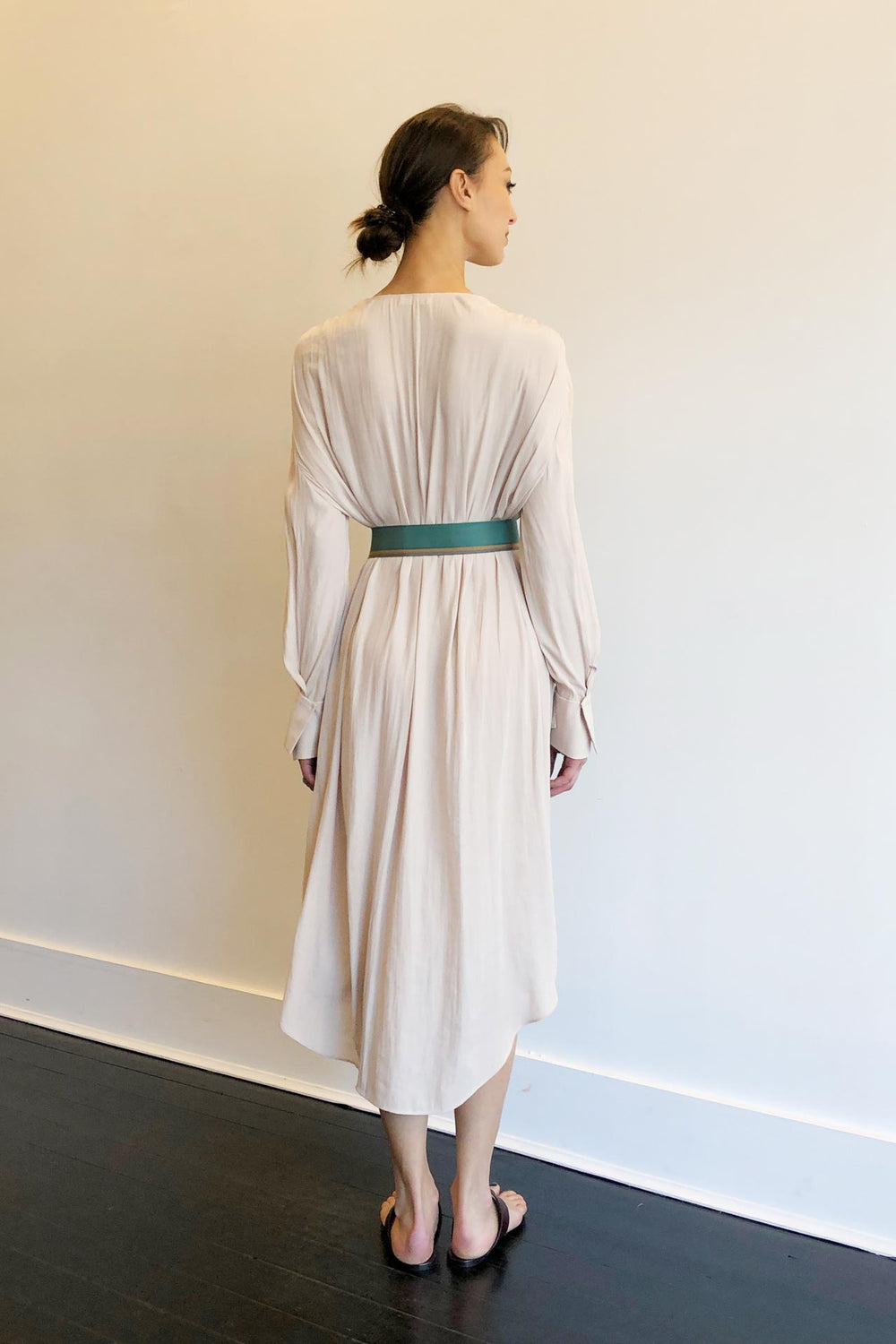Fashion Designer CARL KAPP collection | Zil Pasyon Onesize Fits All cocktail White dress with sleeves | Sydney Australia