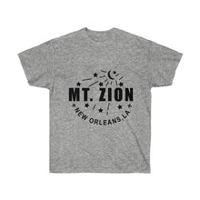 Load image into Gallery viewer, Mt Zion Nola Unisex Ultra Cotton Tee - Black Text - BrandLove101
