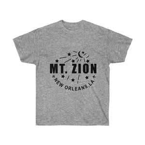 Mt Zion Nola Unisex Ultra Cotton Tee - Black Text - BrandLove101