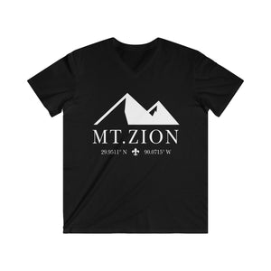 Zion New Orleans Coordinates Men's Fitted V-Neck Short Sleeve Tee - More Colors