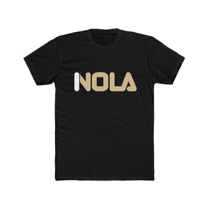 Nola New Orleans Fila Logo Inspired Unisex / Men's Cotton Crew Tee - BrandLove101