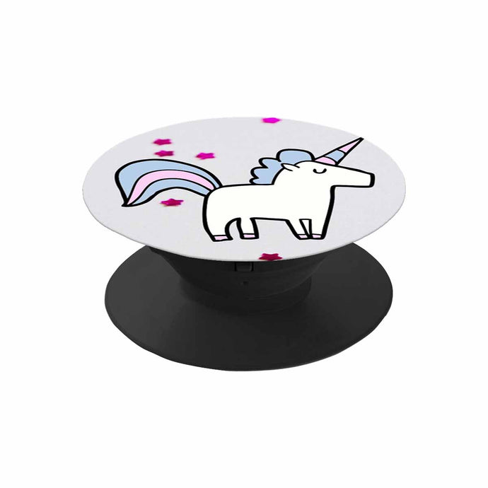 Unicorn and Stars Pop Socket Multi-function Cell Phone Stand