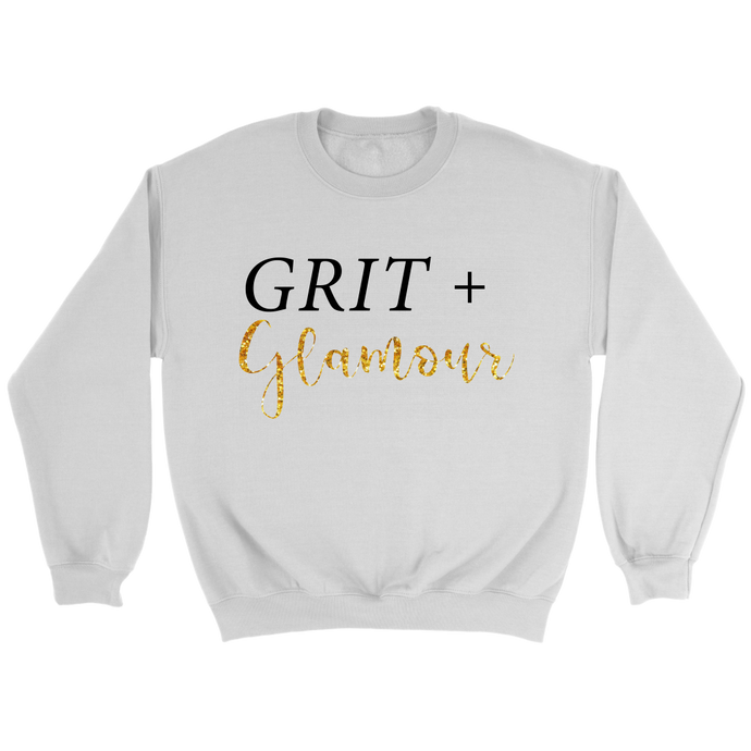 Grit and Glamour Crew Neck Sweatshirt - BrandLove101