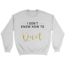 Load image into Gallery viewer, I Don't Know How To Quit Canvas Crewneck Sweatshirt - 2 Colors - BrandLove101