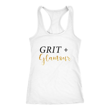 Load image into Gallery viewer, Grit and Glamour Racerback Tank - BrandLove101