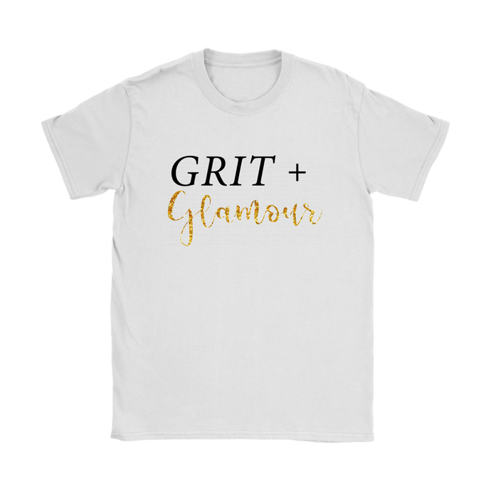 Grit and Glamour Womens Tee - BrandLove101