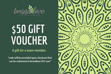 Load image into Gallery viewer, Gift Card Certificate Voucher  - Customizable - $10-$100 - BrandLove101