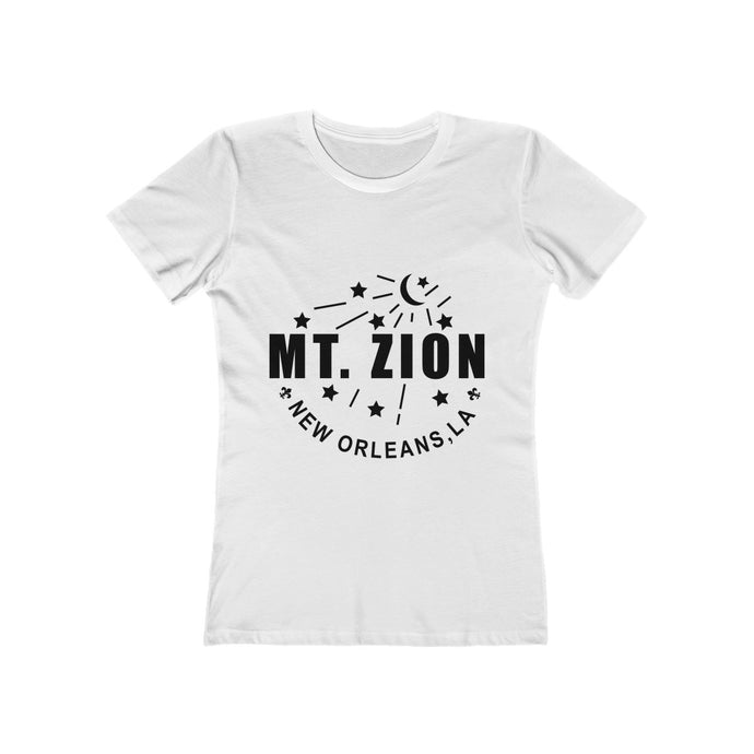 Mt Zion Nola Women's The Boyfriend Tee - 2 Colors - BrandLove101