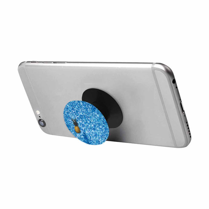Pineapple Water Pretty Blue Pop Socket Cell Phone Stand - BrandLove101