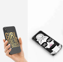 Load image into Gallery viewer, Girl Boss I Phone Cover Case - 2 Designs - BrandLove101
