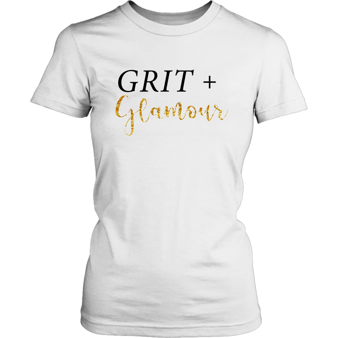 Grit and Glamour Womens Ladies Tee - BrandLove101