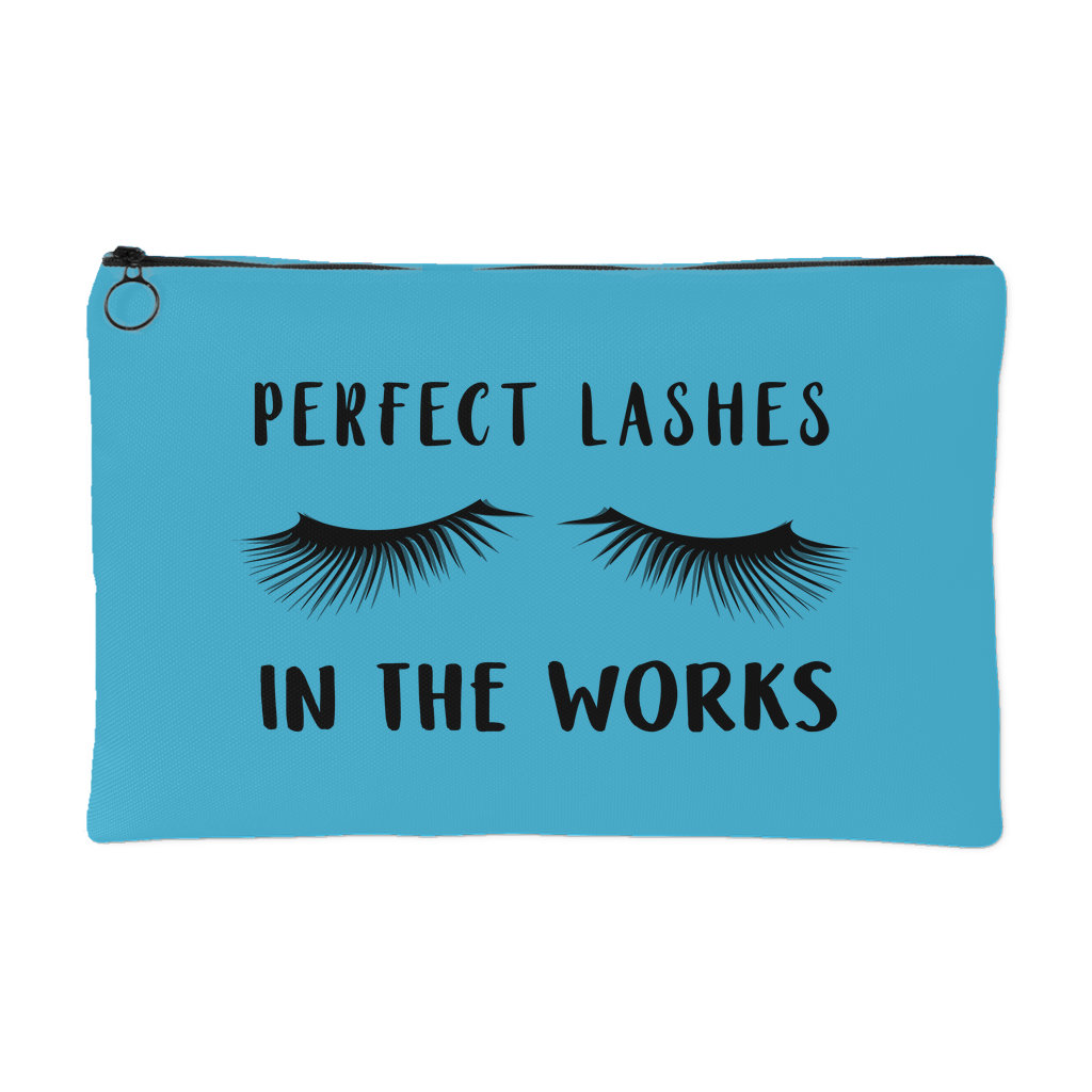Perfect Lashes in the Works Team Gift Accessory Pouch Makeup Case Lash Boost Holder - BrandLove101