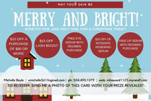 "Load image into Gallery viewer, Christmas Scene - 4""x6"" Rodan + Fields / Rodan + Fields Scratch-Off Card / Rodan + Fields Christmas Specials / Rodan + Fields PDF / Holiday Promo / PDF / JPEG - BrandLove101"
