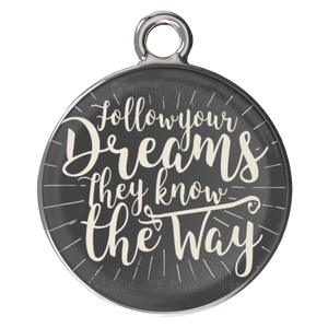 Follow Your Dreams They Know The Way Charm Bracelet - BrandLove101