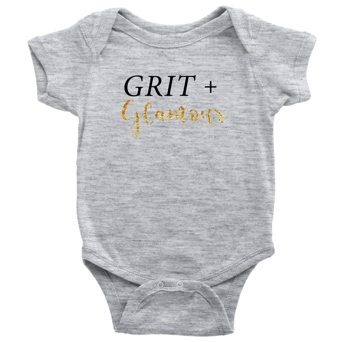 Grit and Glamour Onesie - BrandLove101