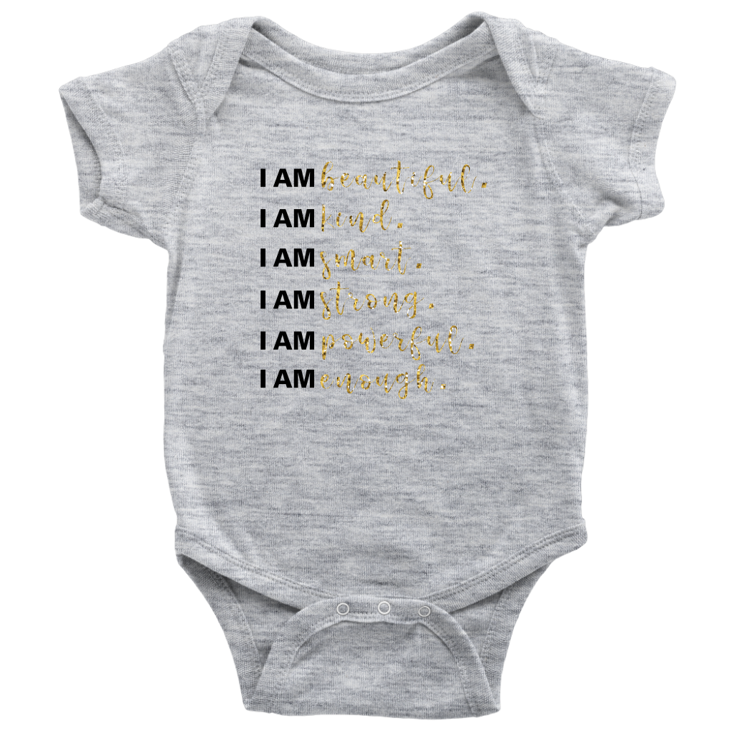 I Am All Things Beautiful Baby Bodysuit - 6 Colors - BrandLove101