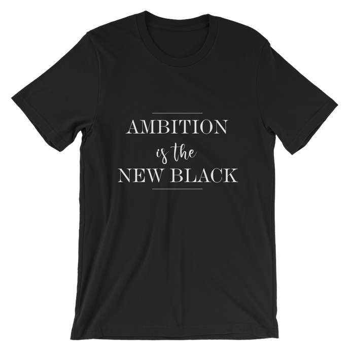 Ambition is The New Black Direct Sales Consultants Graphic Tee Shirt - BrandLove101