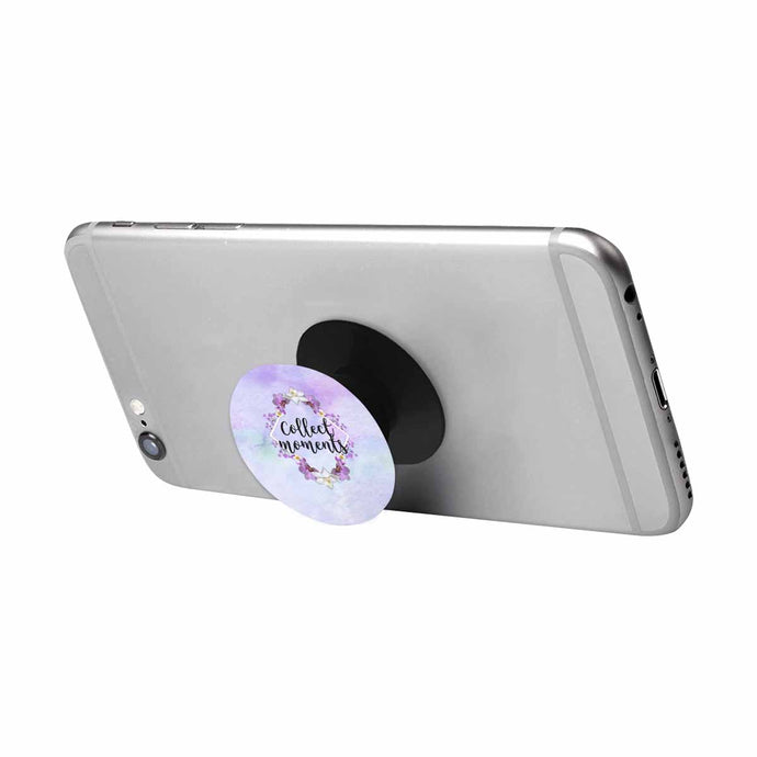 Collect Moments Purple Cell Phone Stand Pop Socket - BrandLove101