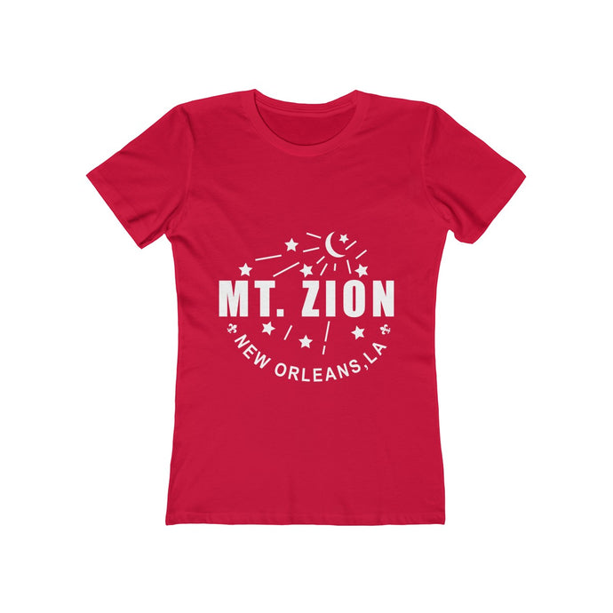Mt Zion Nola Women's The Boyfriend Tee - 11 Colors - BrandLove101