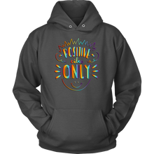 Load image into Gallery viewer, Positive Vibes Only Rainbow Tie Dye Unisex Hoodie - 9 Colors - BrandLove101