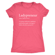 Load image into Gallery viewer, Ladypreneur Womens Crew Neck TriBlend Tee T Shirt - Other Colors - BrandLove101