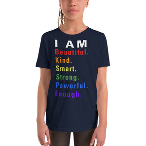I am All Things Beautiful Youth Short Sleeve T-Shirt - 3 Colors - BrandLove101