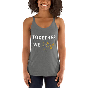 Together We Rise Women's Racerback Tank - BrandLove101