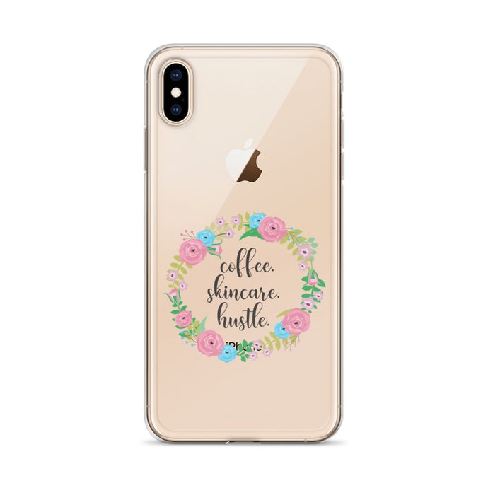 Coffee Skincare Hustle Protective iPhone Case ALL MODELS - BrandLove101