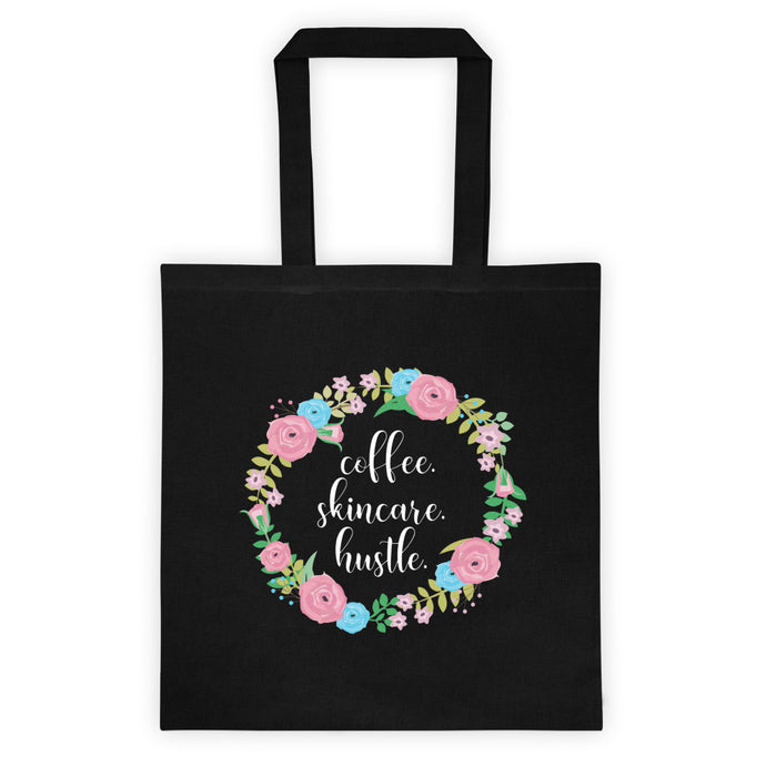 Coffee Skincare Hustle Tote bag - Team Incentive - BrandLove101