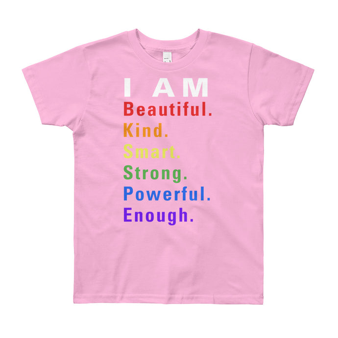 I Am All Things Beautiful Youth Short Sleeve T-Shirt - 7 Colors - BrandLove101