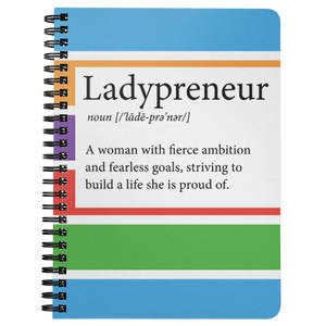 Ladypreneur Spiral Notebook - BrandLove101